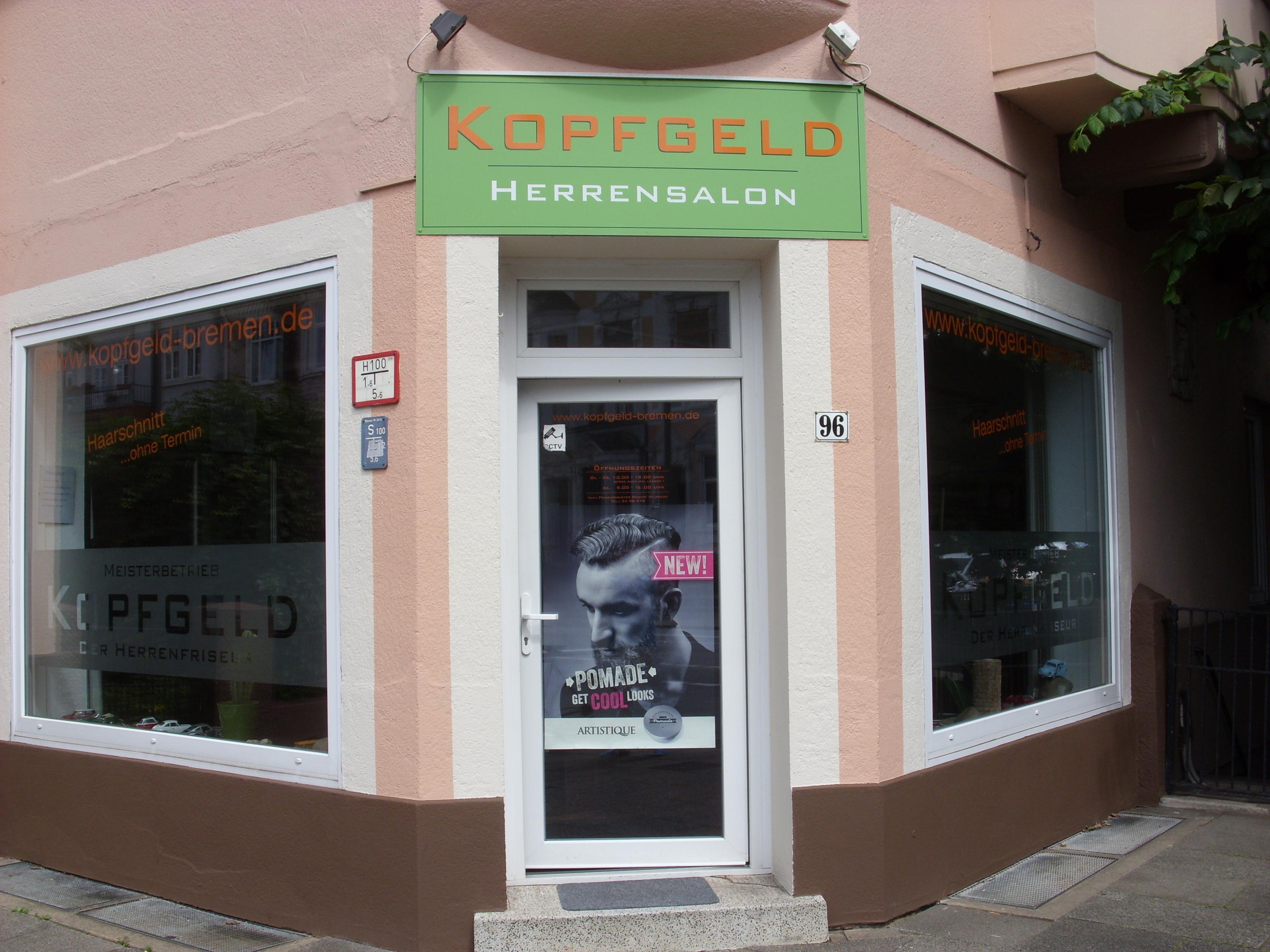 Kopfgeld Bremen Herrensalon